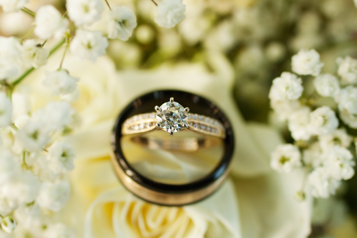 Wedding ring photo inspiration